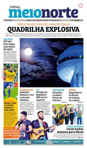 Jornal Meio Norte do dia 15-11-2016
