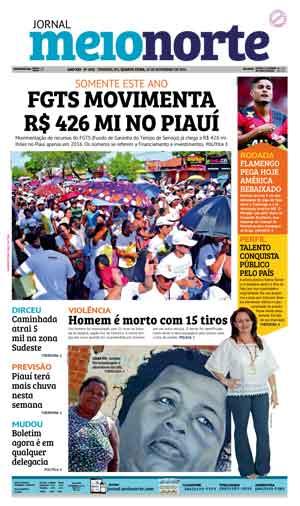 Jornal Meio Norte do dia 16-11-2016