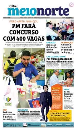 Jornal Meio Norte do dia 17-11-2016