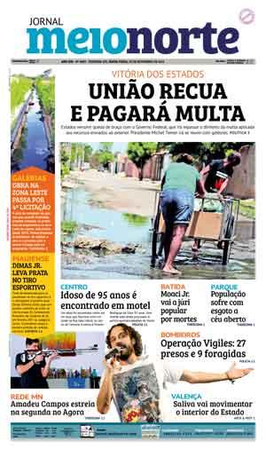 Jornal Meio Norte do dia 18-11-2016