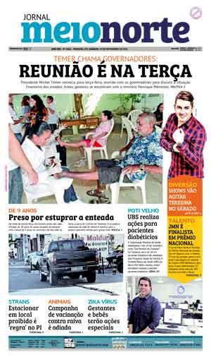 Jornal Meio Norte do dia 19-11-2016