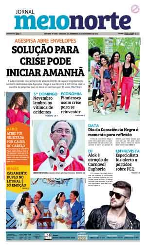 Jornal Meio Norte do dia 20-11-2016