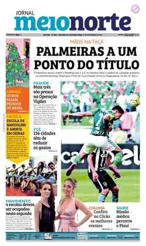 Jornal Meio Norte do dia 21-11-2016