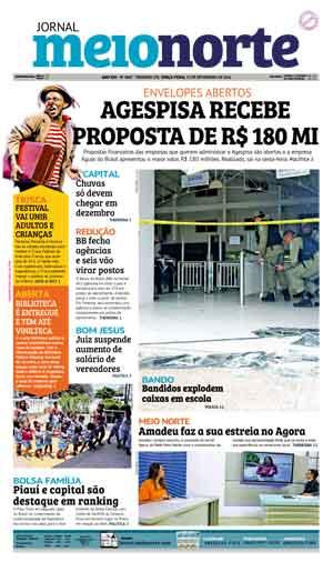 Jornal Meio Norte do dia 22-11-2016