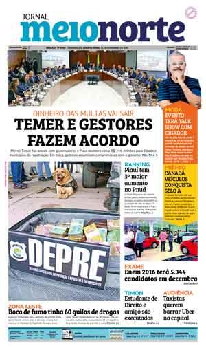 Jornal Meio Norte do dia 23-11-2016