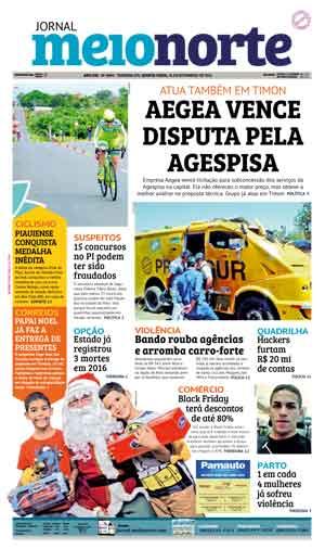 Jornal Meio Norte do dia 24-11-2016