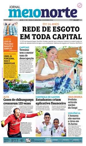 Jornal Meio Norte do dia 25-11-2016