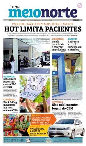 Jornal Meio Norte do dia 26-11-2016