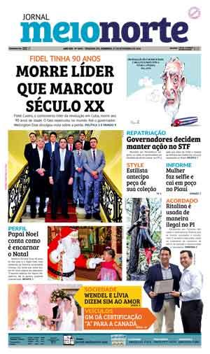 Jornal Meio Norte do dia 27-11-2016