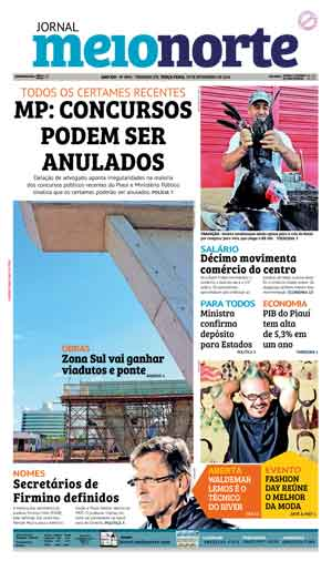 Jornal Meio Norte do dia 29-11-2016