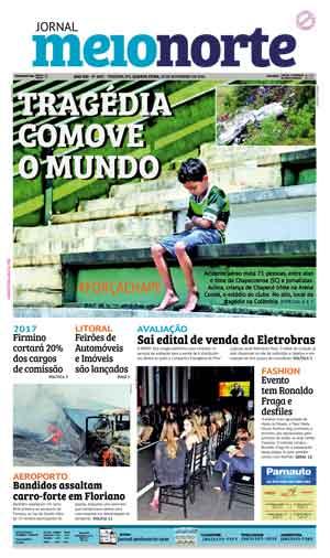 Jornal Meio Norte do dia 30-11-2016