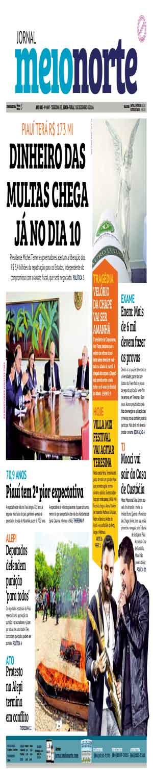 Jornal Meio Norte do dia 2-12-2016