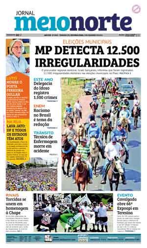 Jornal Meio Norte do dia 5-12-2016