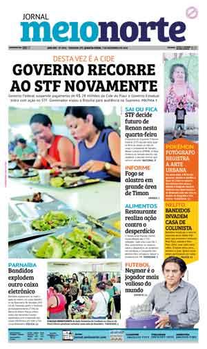 Jornal Meio Norte do dia 7-12-2016