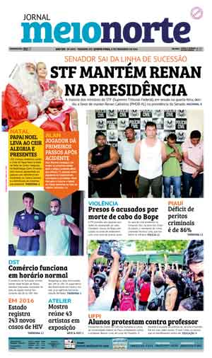 Jornal Meio Norte do dia 8-12-2016