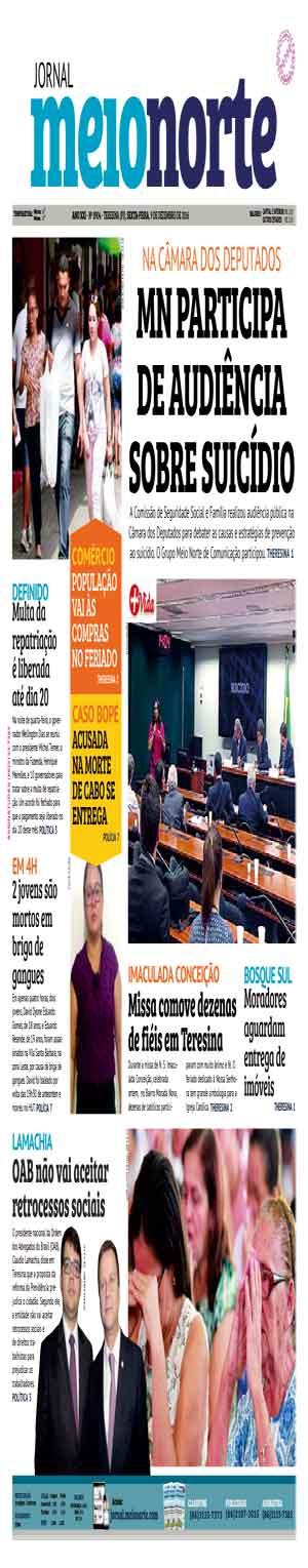 Jornal Meio Norte do dia 9-12-2016