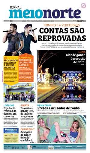 Jornal Meio Norte do dia 10-12-2016