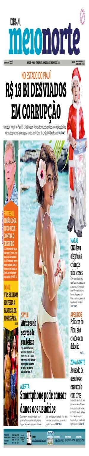 Jornal Meio Norte do dia 11-12-2016