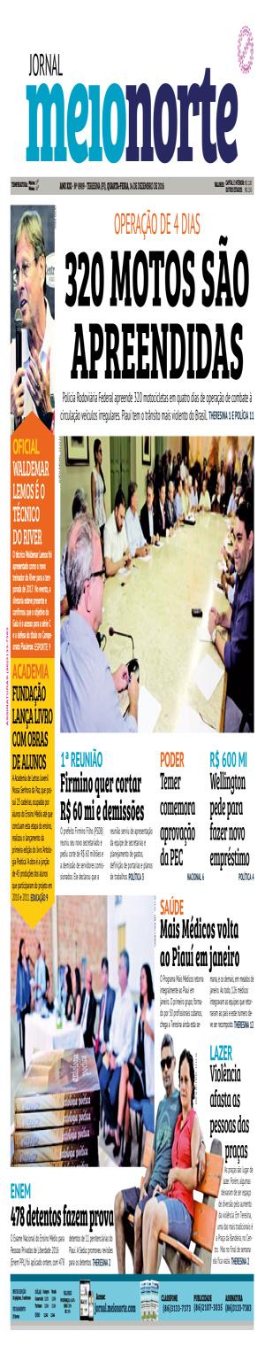 Jornal Meio Norte do dia 14-12-2016