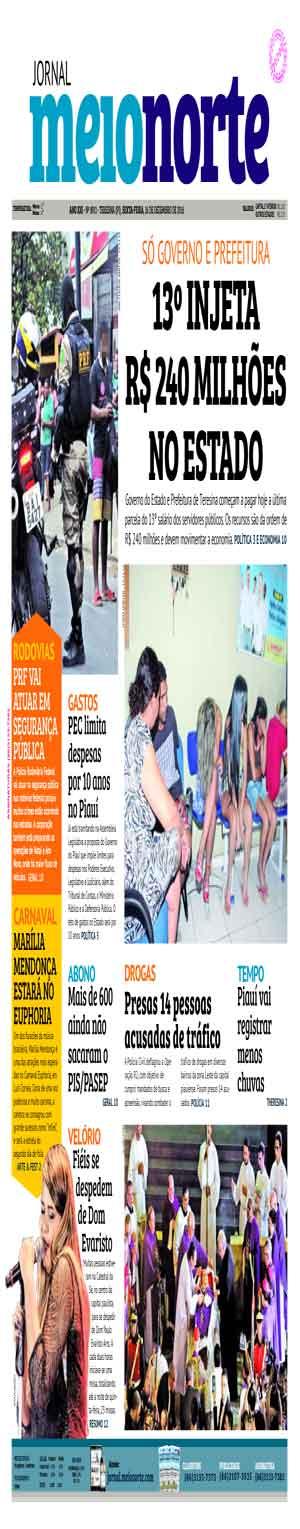 Jornal Meio Norte do dia 16-12-2016
