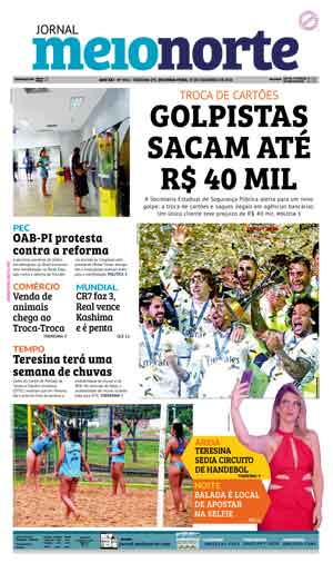 Jornal Meio Norte do dia 19-12-2016