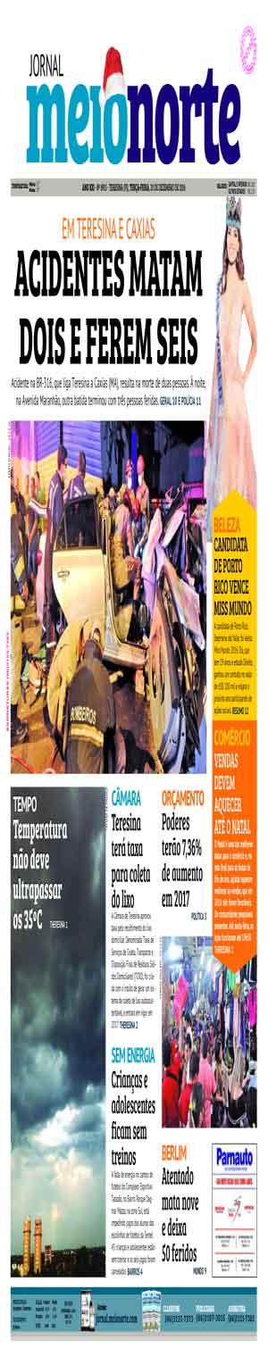 Jornal Meio Norte do dia 20-12-2016