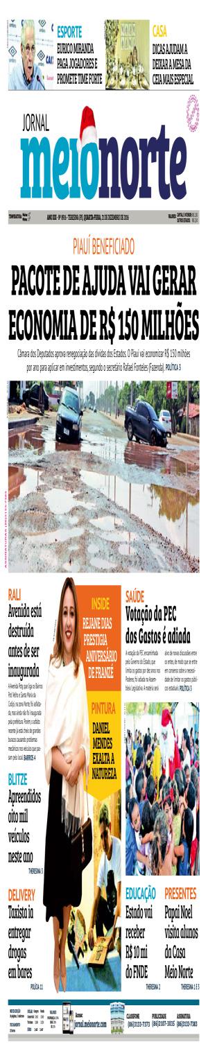 Jornal Meio Norte do dia 21-12-2016
