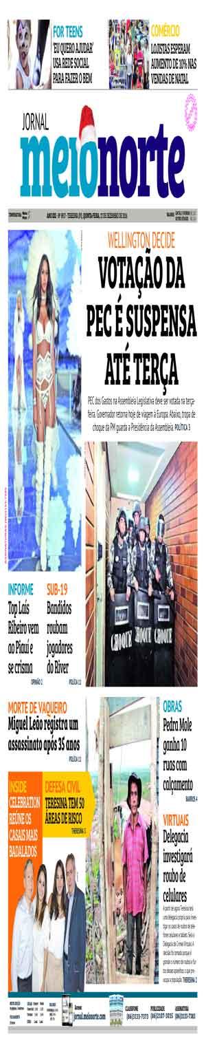 Jornal Meio Norte do dia 22-12-2016