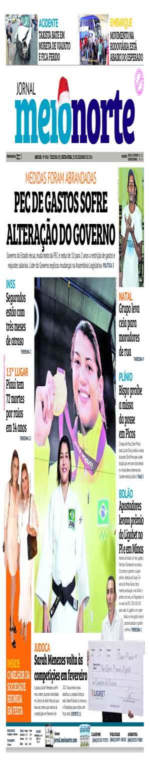 Jornal Meio Norte do dia 23-12-2016