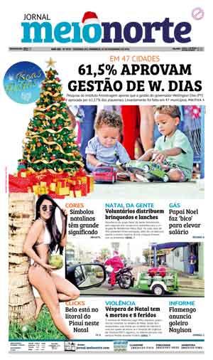 Jornal Meio Norte do dia 25-12-2016