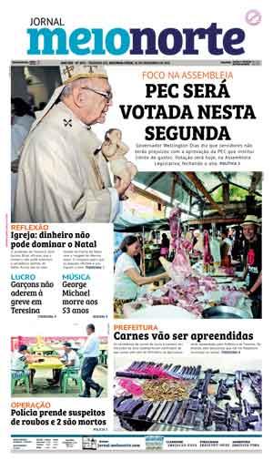 Jornal Meio Norte do dia 26-12-2016