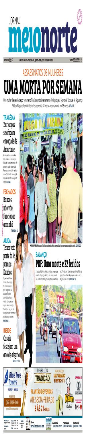 Jornal Meio Norte do dia 29-12-2016
