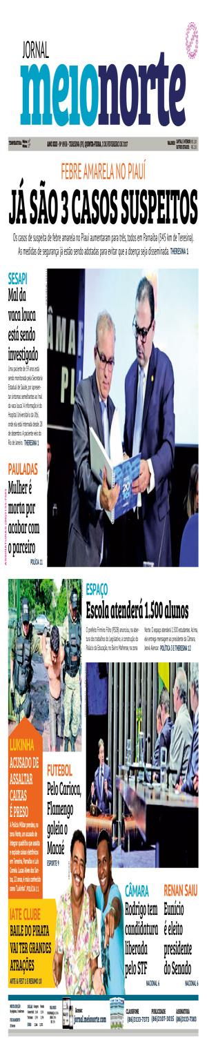 Jornal Meio Norte do dia 2-02-2017