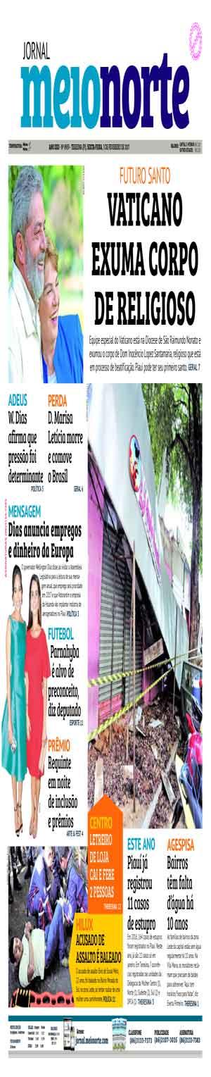 Jornal Meio Norte do dia 3-02-2017