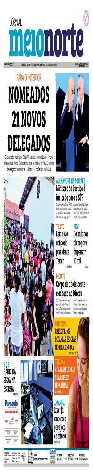 Jornal Meio Norte do dia 7-02-2017