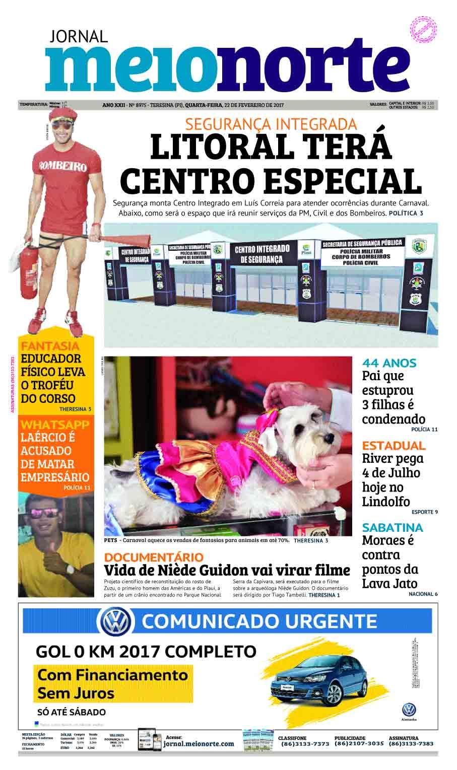 Jornal Meio Norte do dia 22-02-2017