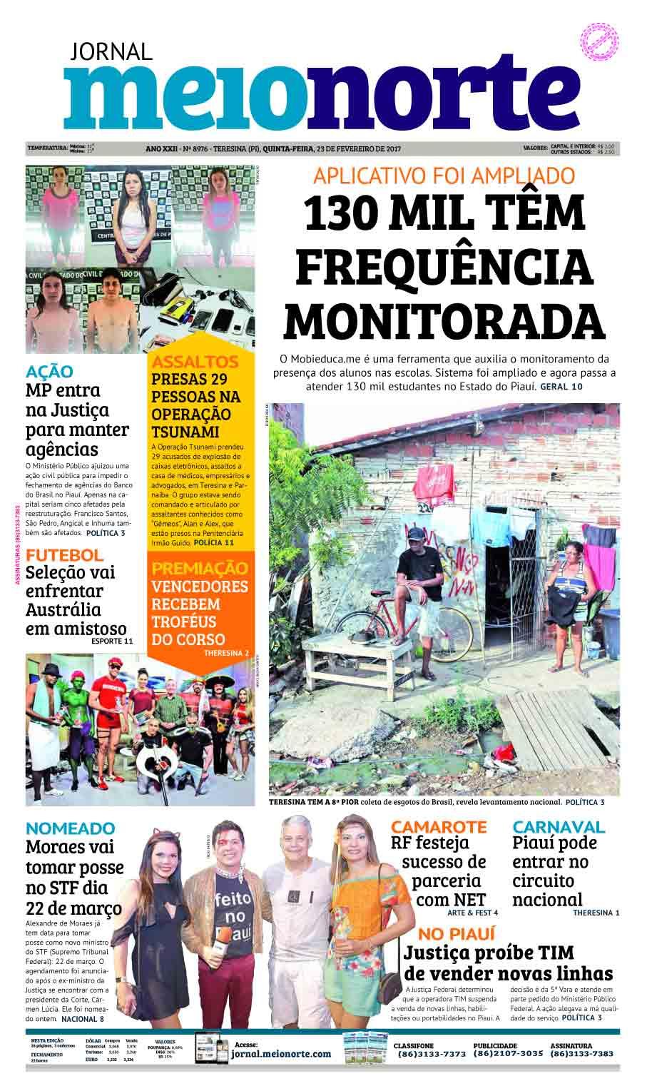 Jornal Meio Norte do dia 23-02-2017