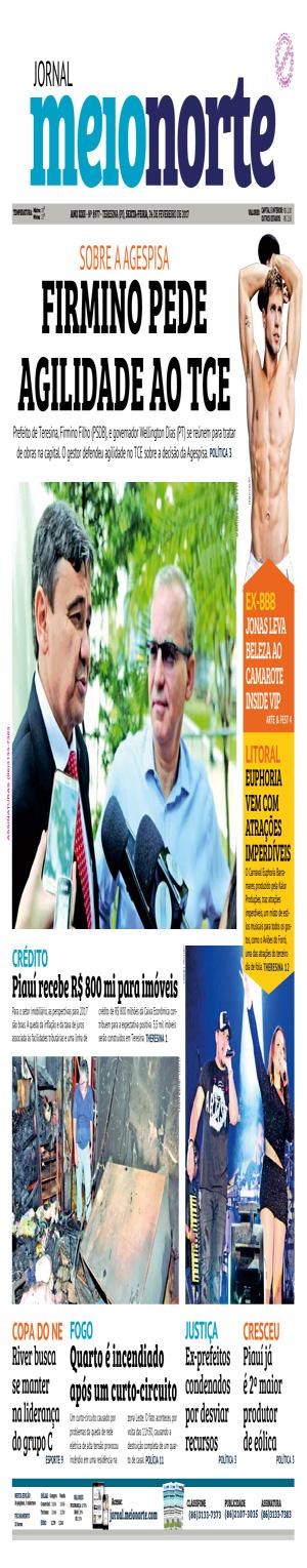 Jornal Meio Norte do dia 24-02-2017