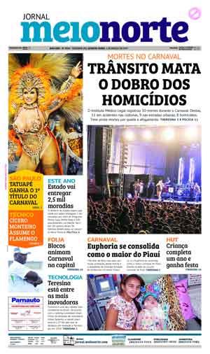 Jornal Meio Norte do dia 1-03-2017