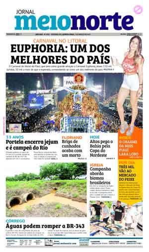 Jornal Meio Norte do dia 2-03-2017