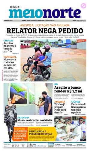 Jornal Meio Norte do dia 3-03-2017