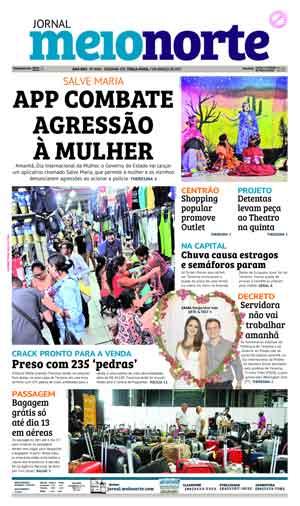Jornal Meio Norte do dia 7-03-2017