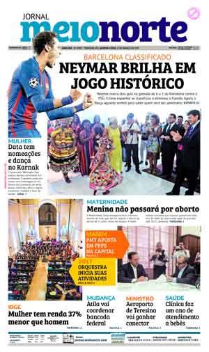 Jornal Meio Norte do dia 9-03-2017
