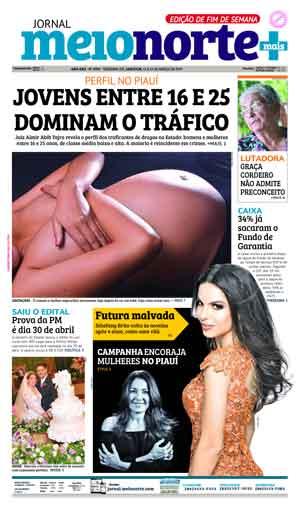 Jornal Meio Norte do dia 11-03-2017
