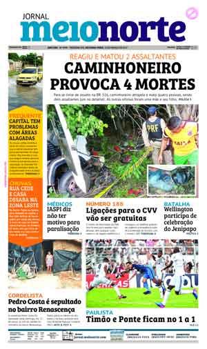 Jornal Meio Norte do dia 13-03-2017