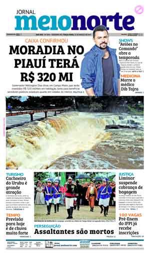 Jornal Meio Norte do dia 14-03-2017