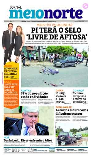Jornal Meio Norte do dia 15-03-2017