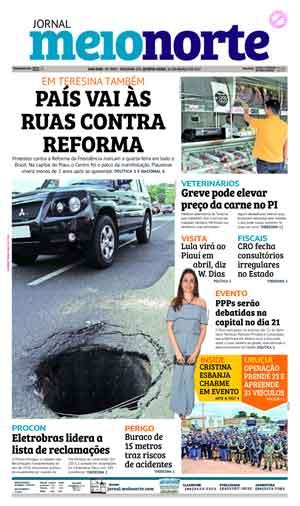 Jornal Meio Norte do dia 16-03-2017
