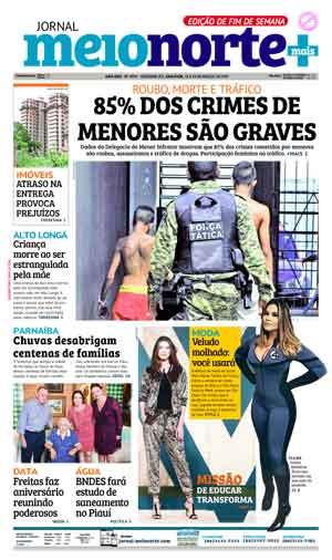 Jornal Meio Norte do dia 18-03-2017