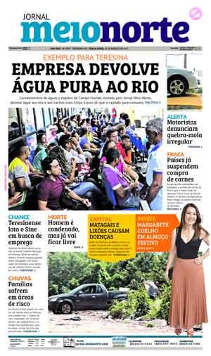 Jornal Meio Norte do dia 21-03-2017